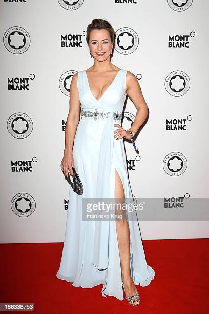 Bettina Cramer attends the Prix Montblanc 2013 at Konzerthaus Am Gendarmenmarkt on October 30 2013 in Berlin Germany