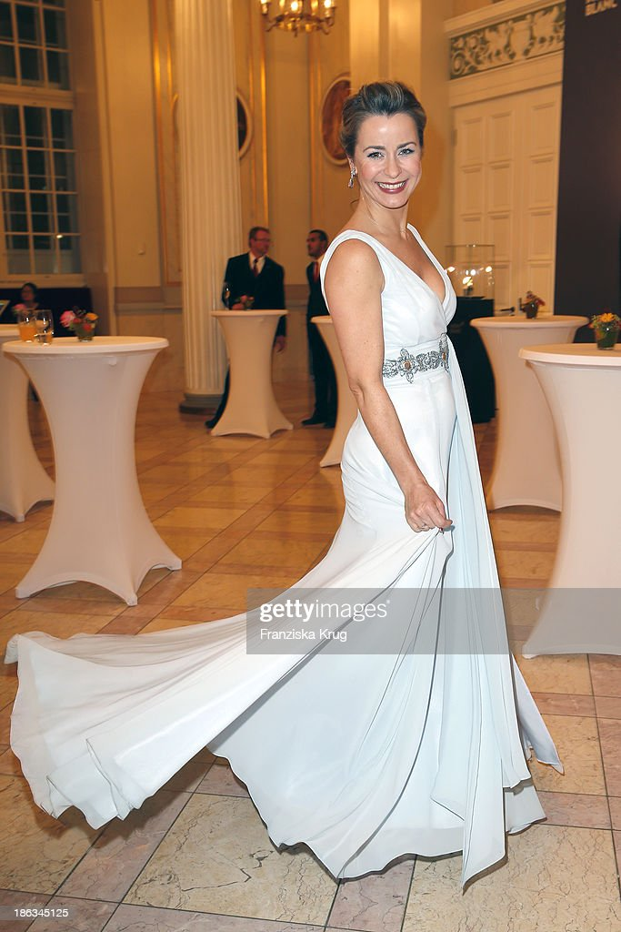 <a gi-track='captionPersonalityLinkClicked' href=/galleries/search?phrase=Bettina+Cramer&family=editorial&specificpeople=206863 ng-click='$event.stopPropagation()'>Bettina Cramer</a> attends the Prix Montblanc 2013 at Konzerthaus Am Gendarmenmarkt on October 30, 2013 in Berlin, Germany.
