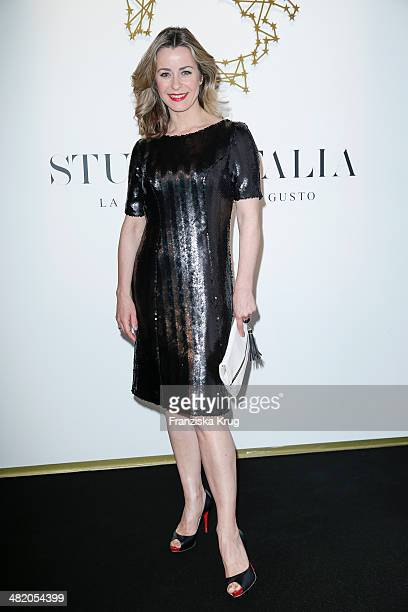 Bettina Cramer attends the 'Studio Italia La Perfezione del Gusto' Grand Opening at KaDeWe on April 02 2014 in Berlin Germany