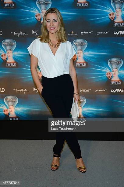 Bettina Cramer attends 'The Wyld Nicht von dieser Welt' Premiere at FriedrichstadtPalast on October 23 2014 in Berlin Germany