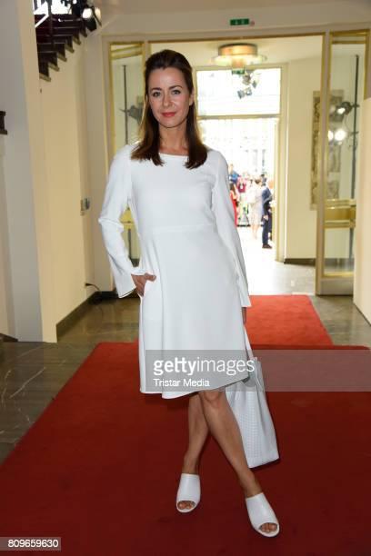 Bettina Cramer during the Vanessa Schindler presented by MercedesBenz ELLE defile during 'Der Berliner Mode Salon' Spring/Summer 2018 at...