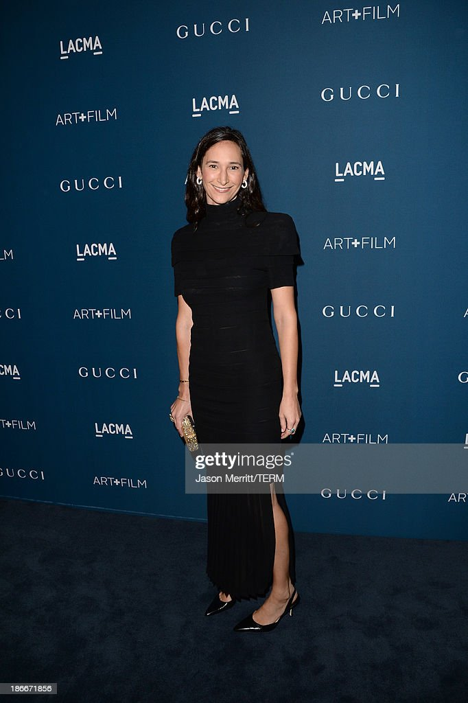 Bettina Korek attends the LACMA 2013 Art + Film Gala honoring Martin Scorsese and David Hockney presented by Gucci at LACMA on November 2, 2013 in Los Angeles, California.