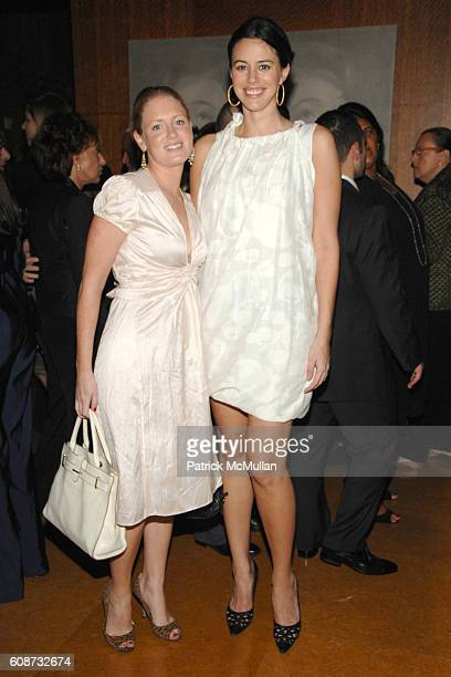 Bettina Prentice and Sarah Basile attend MANDARIN ORIENTAL HOTEL GROUP Party for the SOTHEBY'S Contemporary Asian Art Exhibition at The Mandarin...