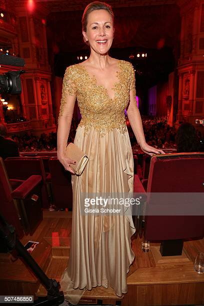 Bettina Wulff during the Semper Opera Ball 2016 at Semperoper on January 29 2016 in Dresden Germany