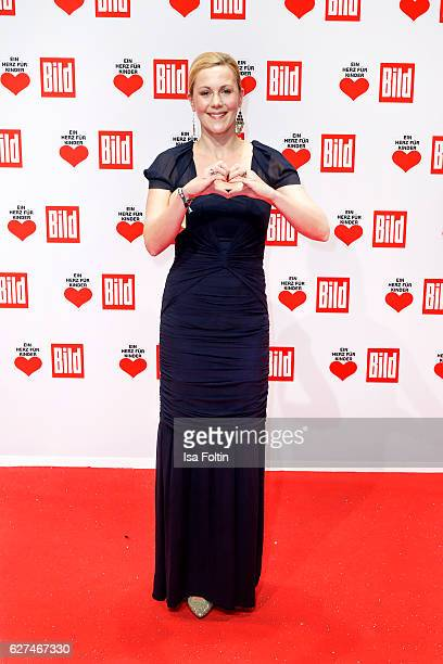Bettina Wulff wif of the former federal president of Germany attends the Ein Herz Fuer Kinder gala on December 3 2016 in Berlin Germany