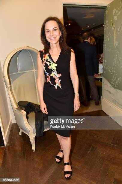Bettina Zilkha attend the launch of Second Bloom Cathy Graham's Art of the Table hosted by Joanna Coles and Clinton Smith at Bergdorf Goodman on...