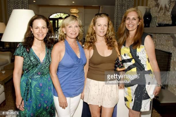 Bettina Zilkha Sharon Bush Anne Hearst McInerney and Susan Feldman attend ONE KINGS LANE LUNCHEON AT 2010 HAMPTONS DESIGNER SHOWHOUSE at Designer...