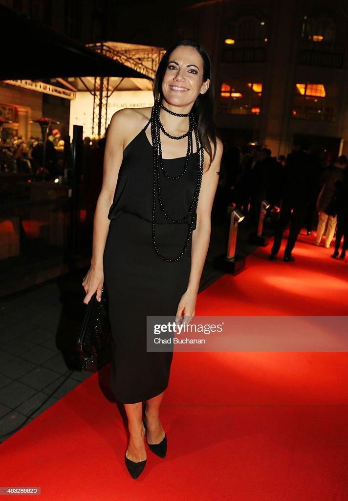 Bettina Zimmermann attends the 99Fire Film Awards during the 65th Berlinale International Film Festival at Admiralspalast on February 12, 2015 in Berlin, Germany.