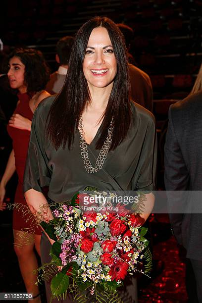 Bettina Zimmermann attends the 99FireFilmAward 2016 at Admiralspalast on February 18 2016 in Berlin Germany