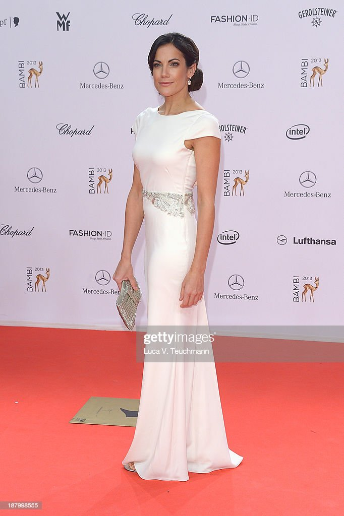 Bettina Zimmermann attends the Bambi Awards 2013 at Stage Theater on November 14 2013 in Berlin Germany