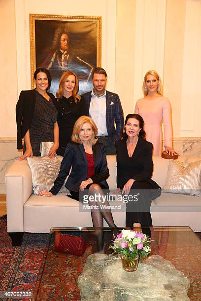 Bettina Zimmermann Sabine Postel Judith Rakers Gudrun Landgrebe Katja Flint and Hardy Krueger Jr attend the De Medici Hotel Grand Opening on March 20...