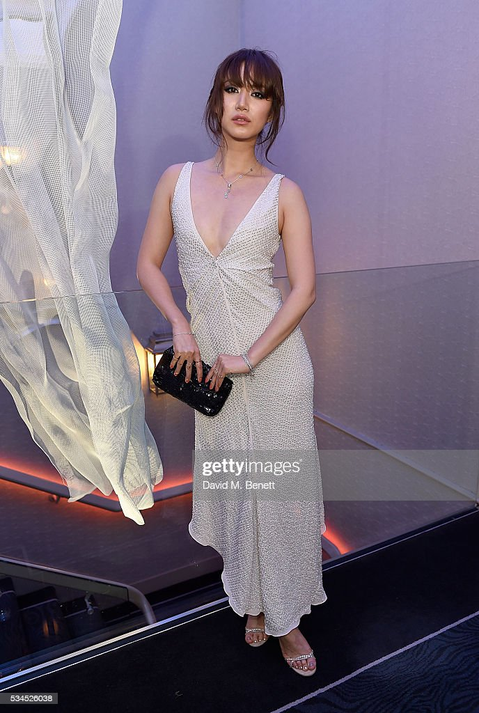 Betty Bachz arrives at the WGSN Futures Awards 2016 on May 26, 2016 in London, England.
