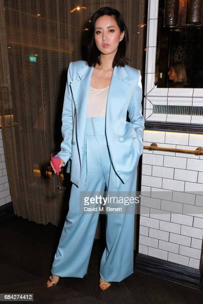 Betty Bachz attends as Aqua Nueva launches the Formentera Terrace at Aqua Nueva on May 17 2017 in London England