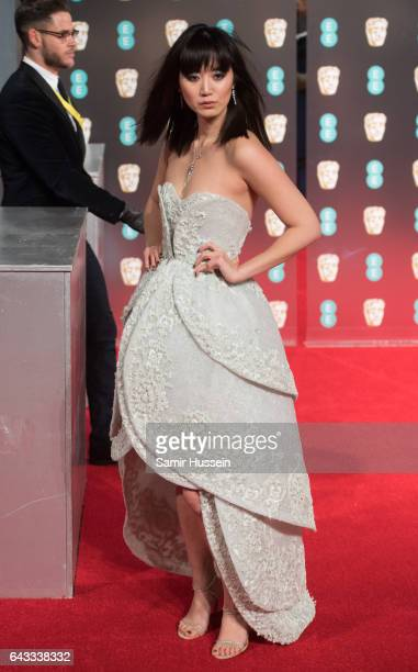 Betty Bachz attends the 70th EE British Academy Film Awards at Royal Albert Hall on February 12 2017 in London England