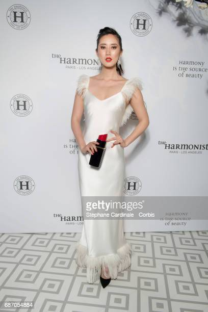 Betty Bachz attends The Harmonist Party during the 70th annual Cannes Film Festival at on May 22 2017 in Cannes France