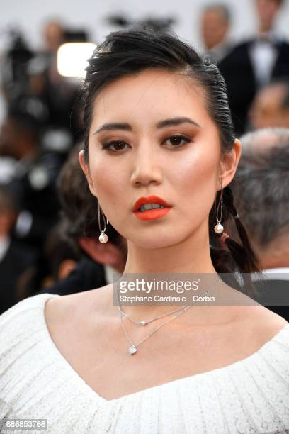 Betty Bachz attends the 'The Killing Of A Sacred Deer' screening during the 70th annual Cannes Film Festival at Palais des Festivals on May 22 2017...