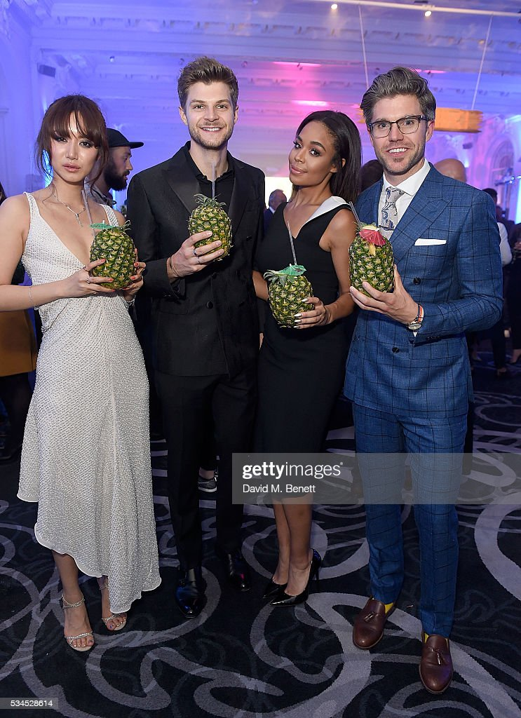 Betty Bachz Jim Chapman Sarah Jane Crawford and Darren Kennedy attend the WGSN Futures Awards 2016 on May 26 2016 in London England