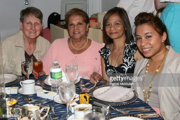 Betty Belliveau Terri Vizcarra Maria Francis and Michelle Francis attend LORD TAYLOR Mother/Daughter Tea for FEED with LAUREN BUSH and ELLEN...