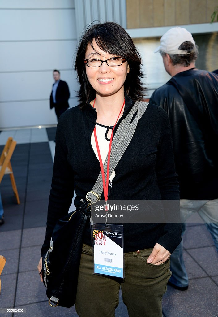 Betty Benns attends the Filmmaker Reception during the 2014 Los Angeles Film Festival at Club Nokia on June 13, 2014 in Los Angeles, California.