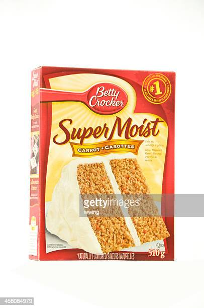 Betty Crocker Cake Mix Isolated