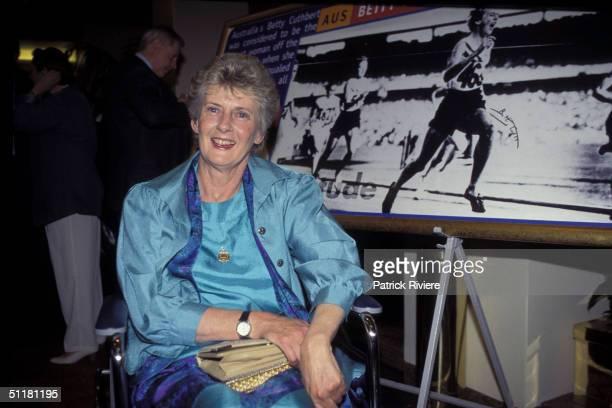 Betty Cuthbert at The Betty Cuthbert Testimonial Lunch in Sydney