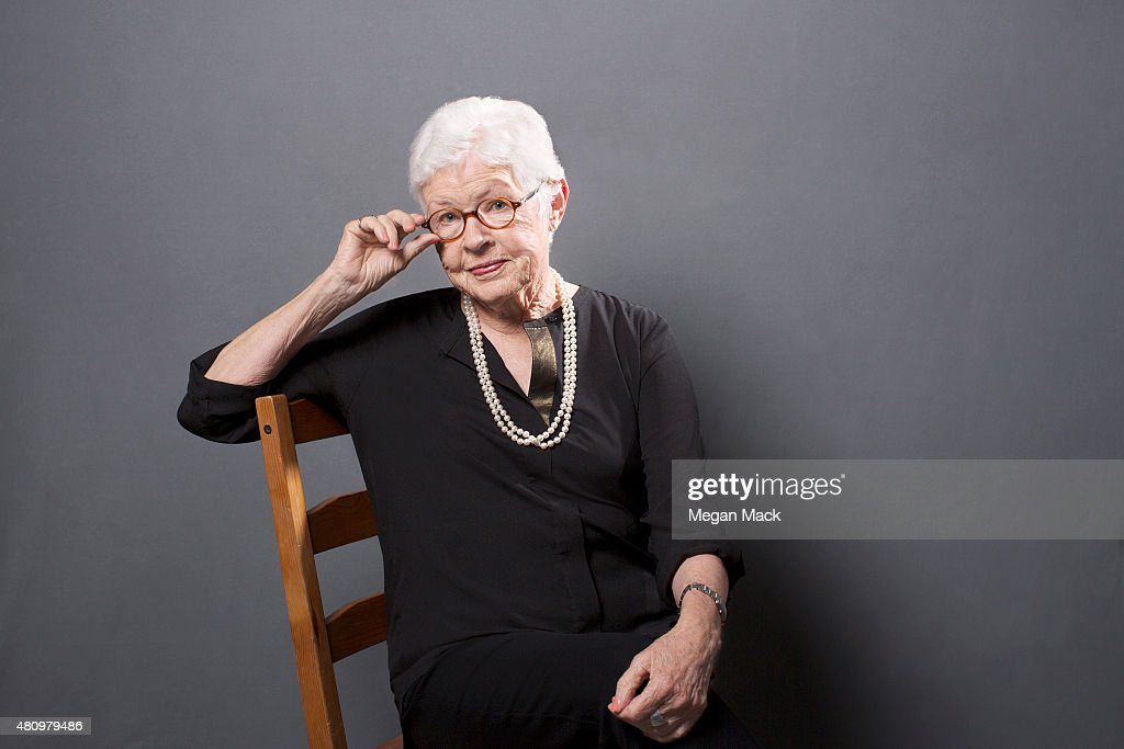 Betty DeGeneres poses for a portrait at the Logo TV's 'Trailblazers' at the Cathedral of St John the Divine on June 25 2015 in New York City