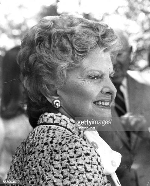 Betty Ford was the guest of honor at the fundraiser Party helped cut Buchanan's remaining senatorial campaign debt Credit Denver Post
