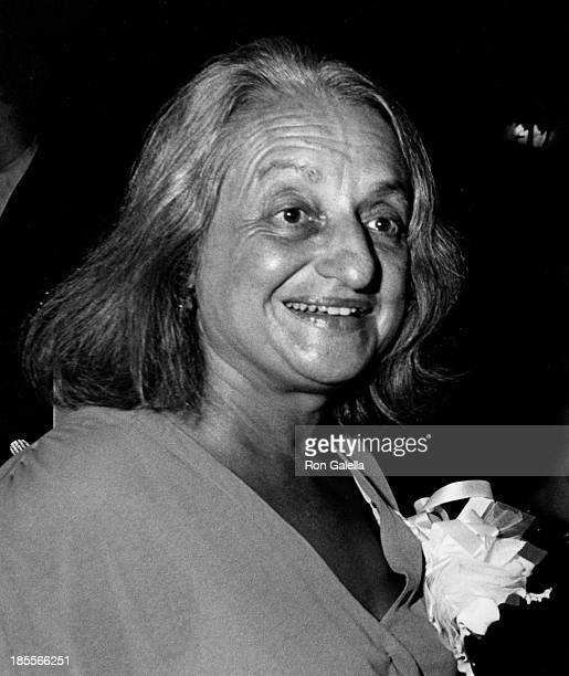 Betty Friedan attends National Federation of Democratic Women Reception on August 12 1980 at Tavern on the Green in New York City