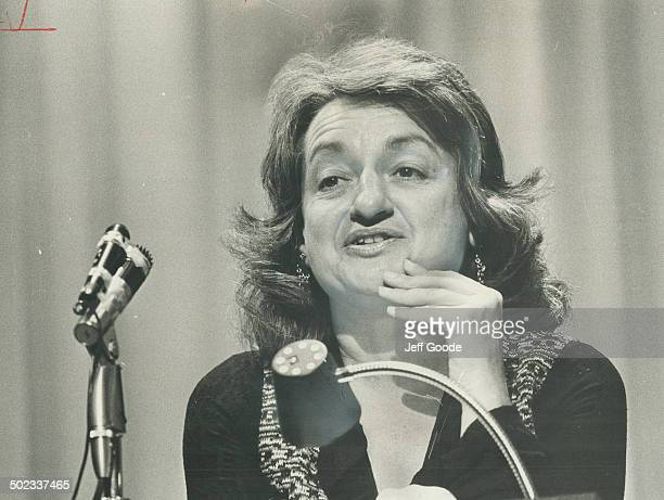 Betty Friedan Blames her own moderation