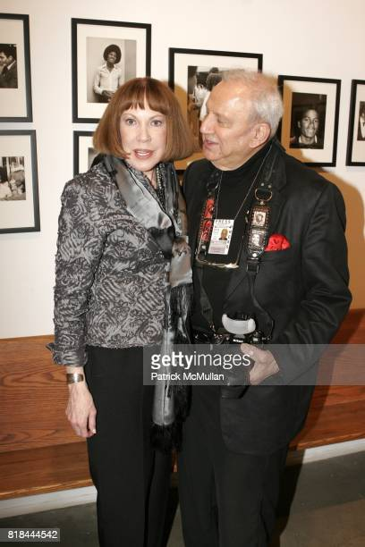 Betty Galella and Ron Galella attend Ron Galella Book Launch Party For Man in the Mirror Michael Jackson and Viva I'Italia at PowerHouse Arena on...