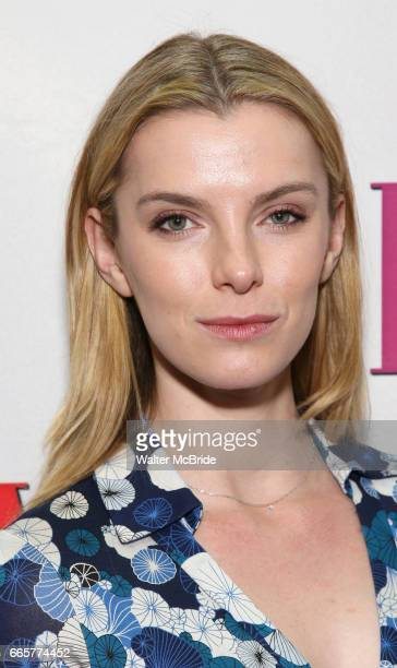 Betty Gilpin attend the Broadway Opening Night Performance of 'War Paint' at the Nederlander Theatre on April 6 2017 in New York City