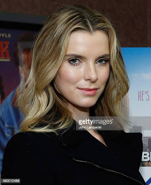 Betty Gilpin attends 'Take Care' New York Screening at Cinema Village on December 5 2014 in New York City