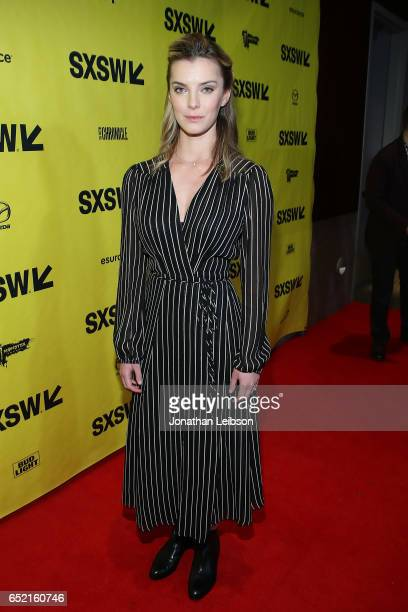 Betty Gilpin attends the 'American Gods' at SXSW at on March 11 2017 in Austin Texas