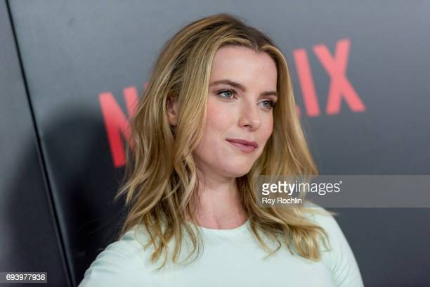 Betty Gilpin attends the New York premiere of 'Okja' at AMC Lincoln Square Theater on June 8 2017 in New York City