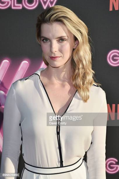 Betty Gilpin attends the Premiere Of Netflix's 'GLOW' Arrivals at The Cinerama Dome on June 21 2017 in Los Angeles California