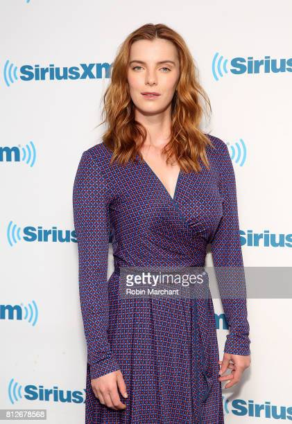 Betty Gilpin visits at SiriusXM Studios on July 11 2017 in New York City