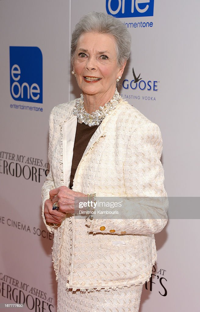 Betty Halbreich attends the Cinema Society with Swarovski & Grey Goose premiere of eOne Entertainment's 'Scatter My Ashes at Bergdorf's' at Florence Gould Hall on April 29, 2013 in New York City.