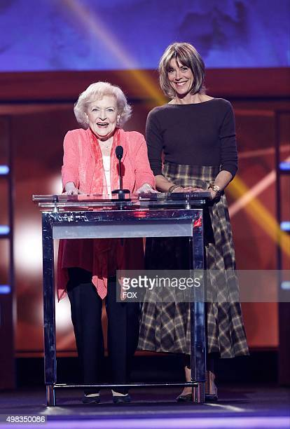 Betty White and Wendy Malick onstage at the second annual THE ALLSTAR DOG RESCUE CELEBRATION a oneofakind event celebrating Americas rescue dogs...
