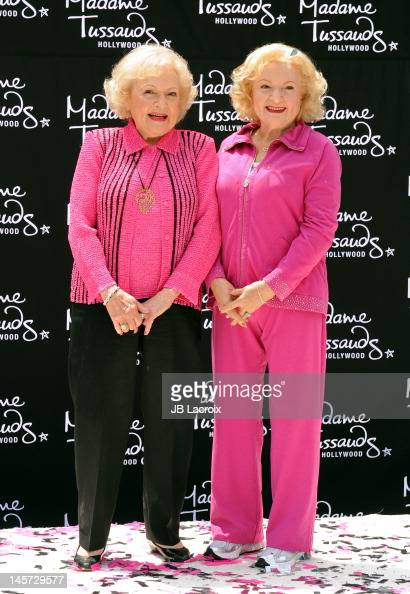 Betty White attends the unveiling of her wax figure at Madame Tussauds Hollywood at Madame Tussauds on June 4 2012 in Hollywood California