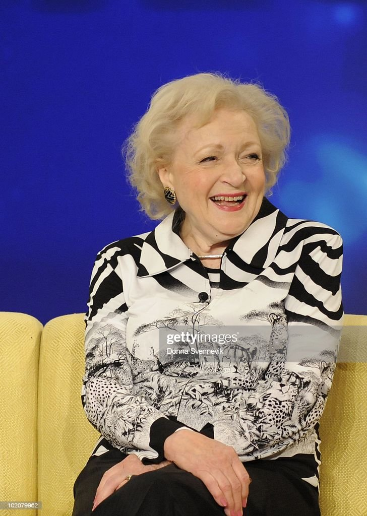 THE VIEW - Betty White ('Hot in Cleveland') made her first guest appearance on 'THE VIEW,' MONDAY, JUNE 14, 2010 (11:00 a.m. - 12:00 noon, ET) airing on the ABC Television Network. VW10 (Photo by Donna Svennevik/ABC via Getty Images) BETTY