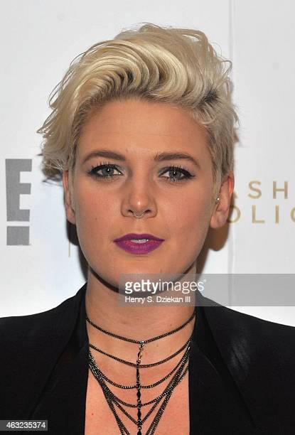 Betty Who attends E 'Fashion Police' and NYLON kickoff New York Fashion Week with a Fifty Shades of Fashion event in celebration of the release of...