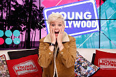 Betty Who Visits Young Hollywood Studio