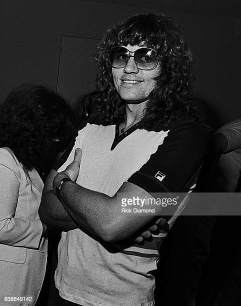 Bev Bevan of ELO press reception at the Peachtree Plaza in Atlanta Georgia July 06 1978