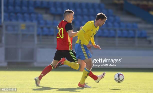 20170323 Beveren Belgium / Uefa U19 Euro 2017 Qualifying Round Sweden vs Belgium / Din SUALA Mattias ANDERSON / Football Under 19 Red Devils / Rode...