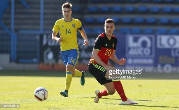 20170323 Beveren Belgium / Uefa U19 Euro 2017 Qualifying Round Sweden vs Belgium / Din SUALA / Football Under 19 Red Devils / Rode Duivels / Diables...