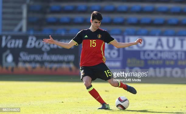 20170323 Beveren Belgium / Uefa U19 Euro 2017 Qualifying Round Sweden vs Belgium / Thibault DE SMET / Football Under 19 Red Devils / Rode Duivels /...