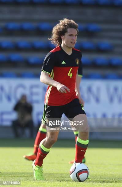 20170323 Beveren Belgium / Uefa U19 Euro 2017 Qualifying Round Sweden vs Belgium / Wout FAES / Football Under 19 Red Devils / Rode Duivels / Diables...