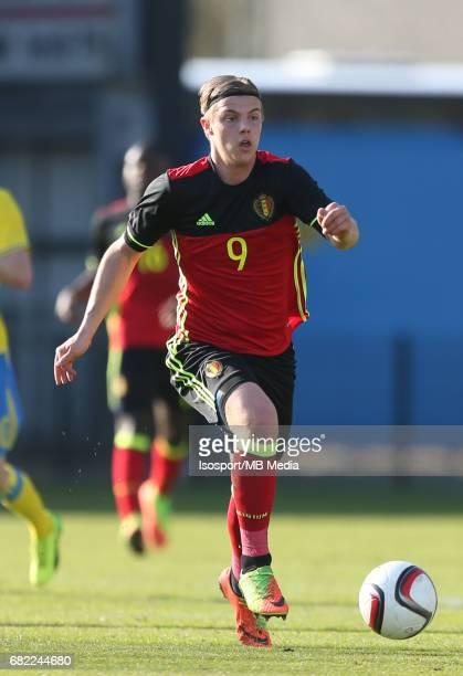20170323 Beveren Belgium / Uefa U19 Euro 2017 Qualifying Round Sweden vs Belgium / 'nJorn VANCAMP'nFootball Under 19 Red Devils / Rode Duivels /...