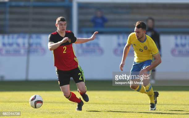 20170323 Beveren Belgium / Uefa U19 Euro 2017 Qualifying Round Sweden vs Belgium / Kino DELORGE Sead HAKSABANOVIC / Football Under 19 Red Devils /...
