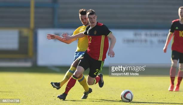 20170323 Beveren Belgium / Uefa U19 Euro 2017 Qualifying Round Sweden vs Belgium / Sead HAKSABANOVIC Kino DELORGE / Football Under 19 Red Devils /...